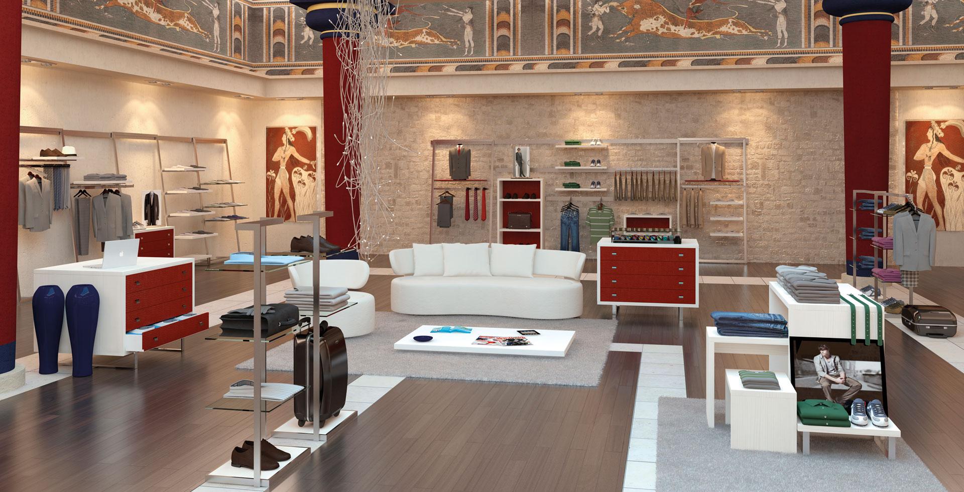 Arredamento negozi Mantova - Azzini arredamenti per negozi